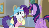 "Rarity ""the key to going undercover"" S8E16"