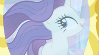 Rarity temporarily makes her mane move MLPS1