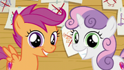 Scootaloo and Sweetie Belle smiling S6E4.png
