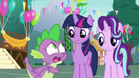"""Spike """"they'll hate each other!"""" S7E15"""