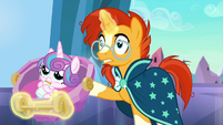 "Sunburst ""more love than anywhere in Equestria"" S6E16"