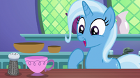 Trixie pleased by her successful spell S7E2