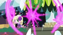 Twilight Sparkle teleports away again MLPBGE
