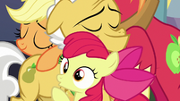 Apple Bloom having a realization S7E13