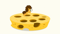 Cheese jumping into cheese holes S4E12