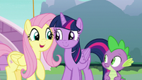 Fluttershy -how much she's appreciated- S8E18