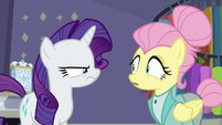 Fluttershy shocked by her termination S8E4