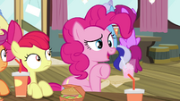 """Pinkie Pie """"what's going on out there"""" S4E15"""