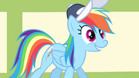 """Rainbow Dash """"up for the challenge"""" S4E05"""