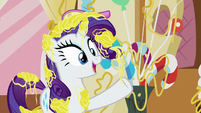 """Rarity """"we'll pay a visit to Zecora!"""" S7E19"""