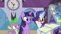 Rarity discussing Twilight's appointment S4E01