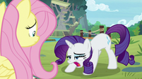 Rarity out of breath S8E4
