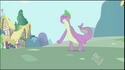 Spike's two tail error S2E10