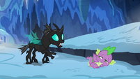 Thorax apologizing to Spike again S6E16