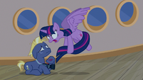 Twilight Sparkle angrily explodes at Star Tracker S7E22