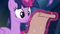 Twilight reads the letter S4E25