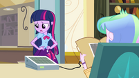 Twilight tries to find the right words EG
