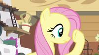 Fluttershy checking under her hoof S4E16