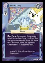 Ice Archery card MLP CCG