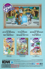 Legends of Magic issue 8 credits page