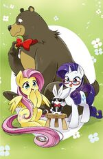 MLP The Manga Vol. 2 cover textless