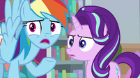 Rainbow -caught everypony in time!- S8E25