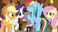 """Rainbow Dash """"we're awesome!"""" S8E18"""