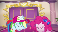 Rainbow and Pinkie banned from buffet EGSB