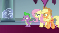 """Spike """"how was that supposed to help"""" S9E24"""
