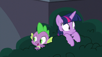 "Spike ""why are we hiding?"" S9E5"