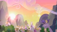 Sunrise over Ponyville S2E03
