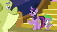 """Twilight """"good to see you feeling better"""" S8E24"""