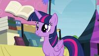 Twilight realizes the books' importance S4E22