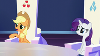 """Applejack """"not exactly clear on all the customs"""" S6E1"""