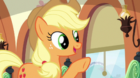 """Applejack """"we wanted to make sure"""" S6E18"""