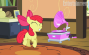 EW promo Apple Bloom dancing S4E17