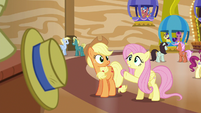 """Fluttershy """"sure he isn't the cause of yours"""" S6E20"""