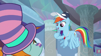 """Rainbow """"the one with a vested interest"""" S9E15"""