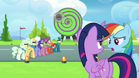 """Rainbow Dash """"do you think they're still mad?"""" S6E24"""