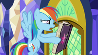 Rainbow Dash -I don't even know what this is- S7E14