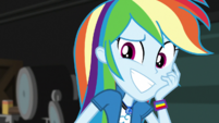 Rainbow Dash grins with embarrassment EGS2