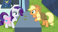 """Rarity """"how can you tell?"""" S4E22"""