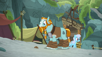 Rockhoof finds an old ball in the dirt S8E21