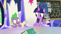"""Spike """"he guessed your whole plan!"""" S9E4"""