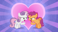 """Sweetie Belle and Scootaloo """"this is the end!"""" S8E6"""