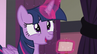 "Twilight ""real question about Cutie Mark Magic"" S5E25"