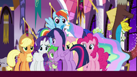 Twilight thanks friends for their help S9E17