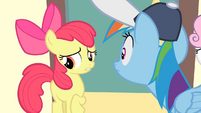 Apple Bloom '...uh, that we didn't want a quitter' S4E05