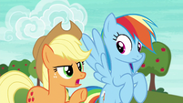 """Applejack """"get your heads in the game"""" S6E18"""