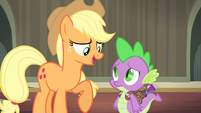 "Applejack ""nah, that's okay"" S4E06"